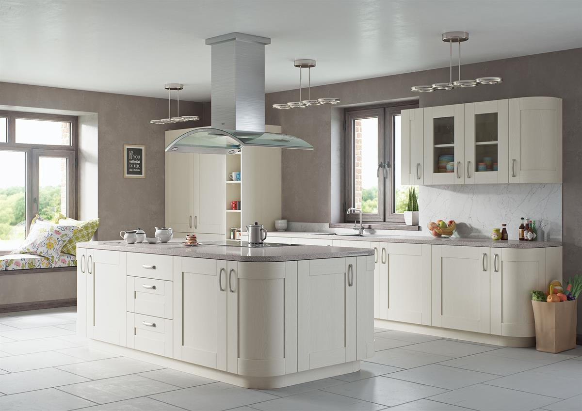 Vero Painted Alabaster Kitchen