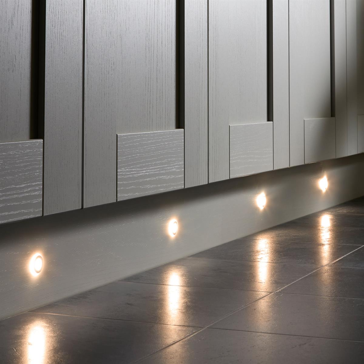 Sensio Halo TrioTone™ Colour Switchable LED Plinth Lights