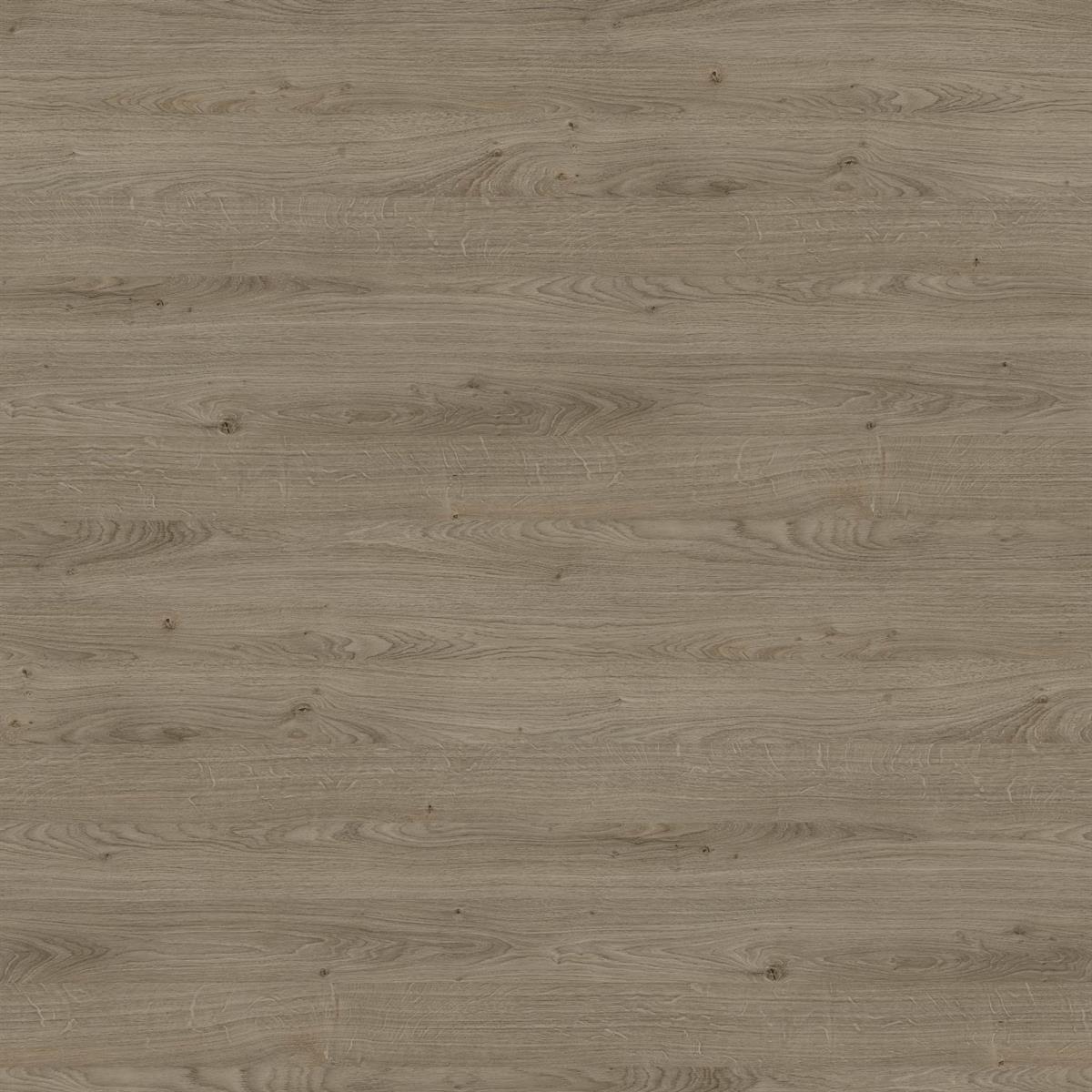 Egger Contemporary Truffle Riverside Oak on Light Grey And White Bedroom