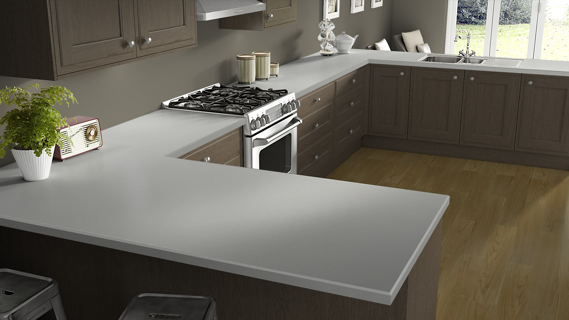 Gemstone Worktops