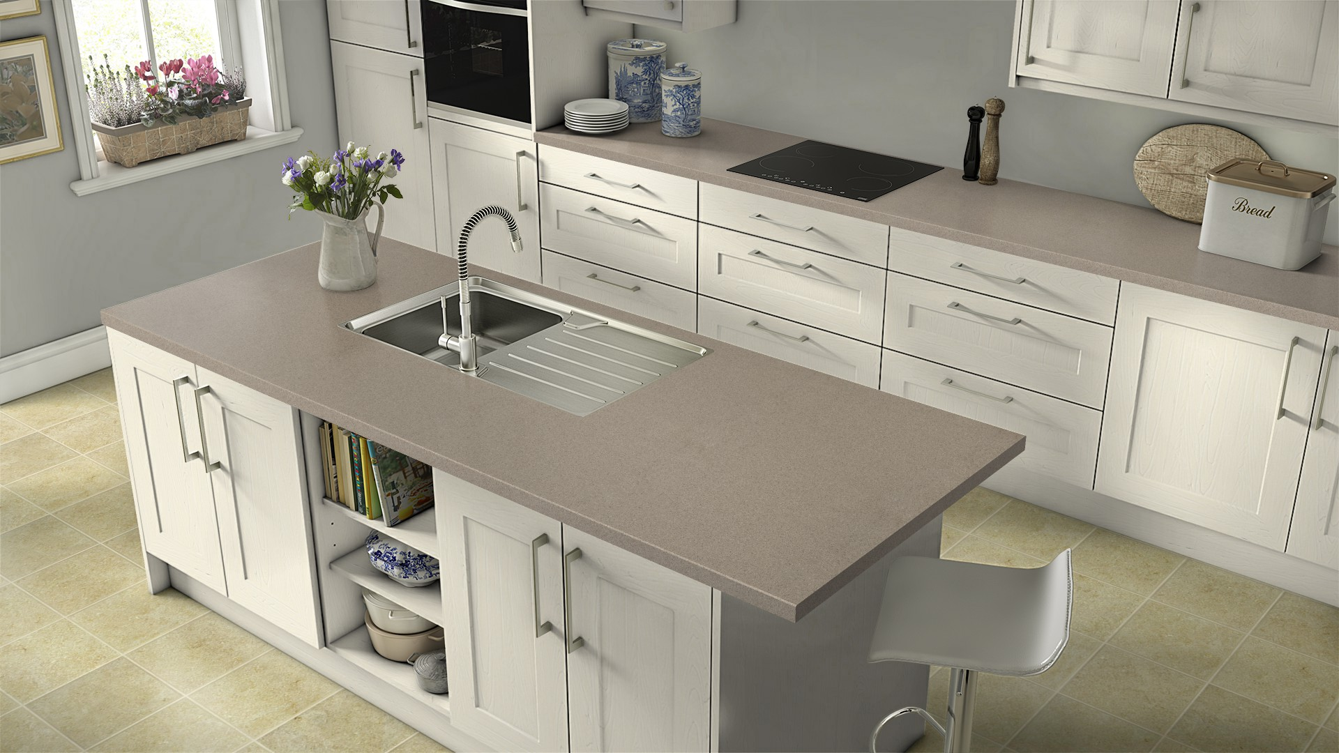 Earthstone Kitchen Worktops