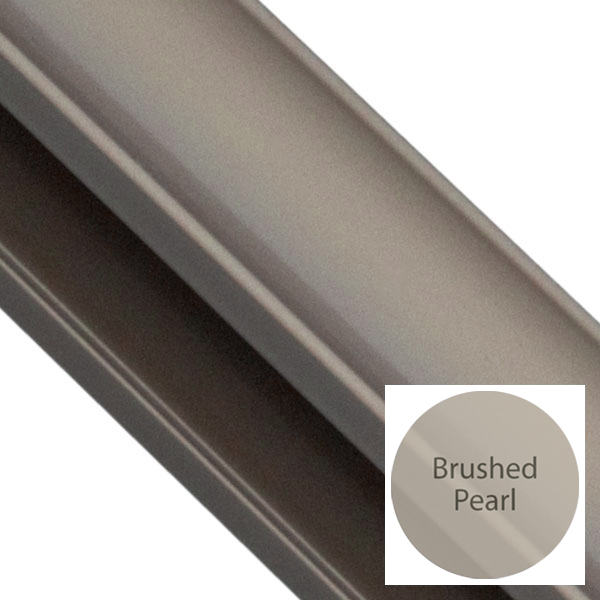 Brushed Pearl Glide Frame Colour
